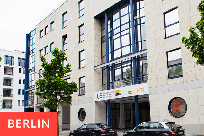 Campus Berlin der University of Applied Sciences Europe